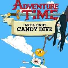 Jogo Adventure Time Finn & Jake's Candy Dive