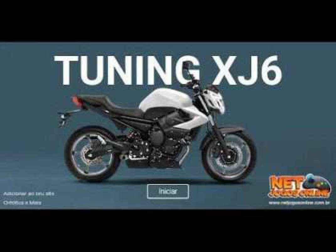 Jogo Tuning Moto XJ6 Online Gratis
