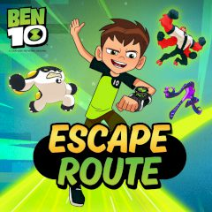 Ben 10 Escape Route Online