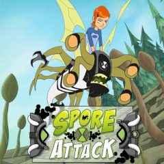 Ben 10 Ultimate Alien Spore Attack
