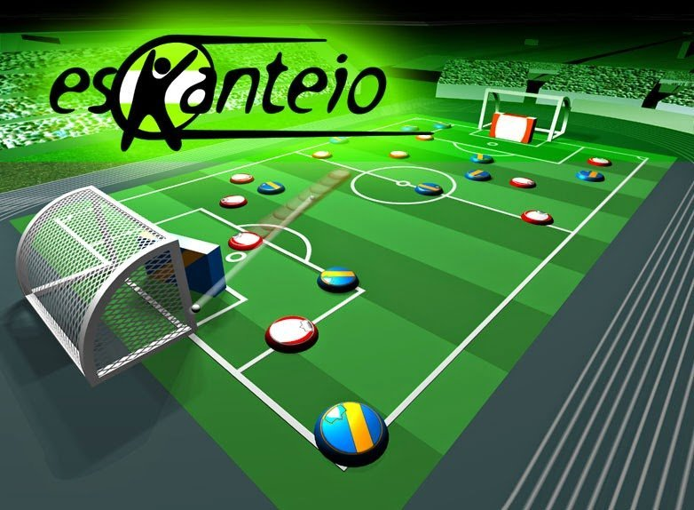 Eskanteio – Futebol de Mesa Online