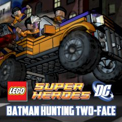 LEGO Batman Hunting Two-Face