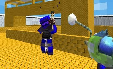 Modern Blocky Paintball Multiplayer