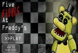 Jogo Cinco Night At Freddy's Luta Online Gratis