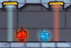 Jogo Fogo e Água 3: O templo de gelo Online Gratis