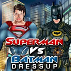 Superman vs Batman Dressup