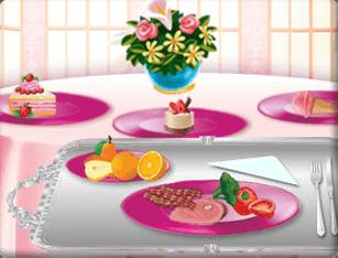 Barbie – Alimentação da Princesa