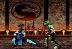 Criando cenas de Mortal Kombat Ninja