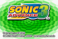 Sonic Advance 3 Online