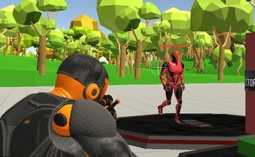 Jogo Fort Shooter Simulator Online Gratis