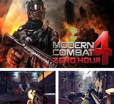 Jogo Modern combat 4 Zero Hour v1.2.2e Online Gratis