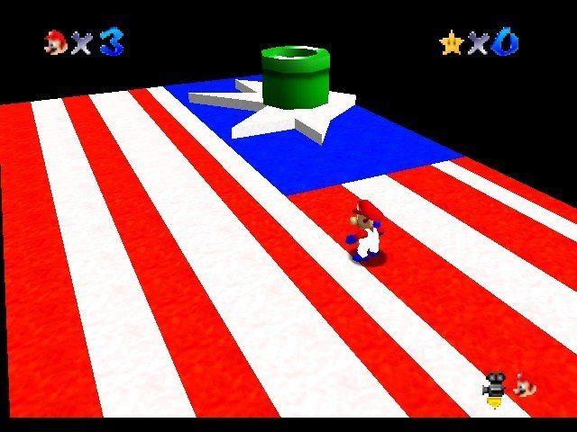 Mario 4th of July 64 Online N64 Rom