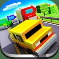 Jogo Blocky Highway: Traffic Racing Online Gratis
