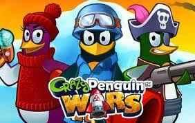 Crazy Penguin Wars no Facebook
