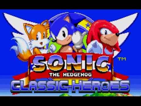 Jogo Sonic The Hedgehog Heroes Online Gratis