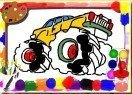 Jogo Monster Truck Coloring Book Online Gratis