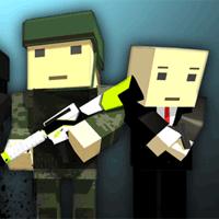 Jogo Pixel 3D Warfare Multiplayer no Facebook Online Gratis