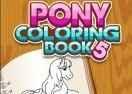 Jogo Pony Coloring Book 5 Online Gratis