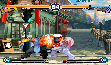 Jogo Street Fighter III 2nd Impact: Giant Attack Online Gratis
