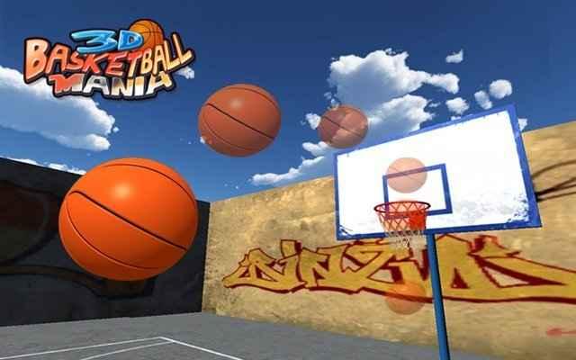 3D Basketball Mania