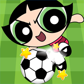 Cartoon Football Match