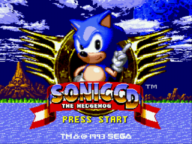Sonic CD (european version) Online