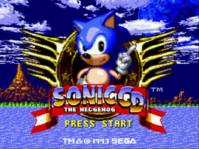 Jogo Sonic CD (european version) Online Gratis