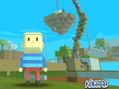 Jogo Kogama: Minecraft Sky Land Online Gratis