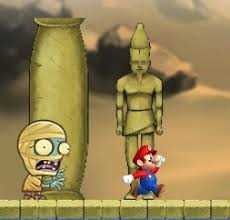 Super Mario Egypt Run