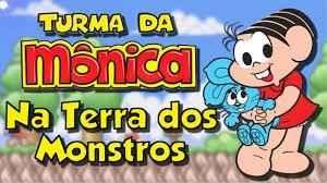 Jogo Na Terra dos Monstros – Turma da Monica Online Gratis