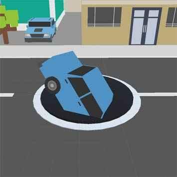 Hole Battle Cars.io