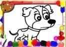 Jogo Dogs Coloring Book Online Gratis