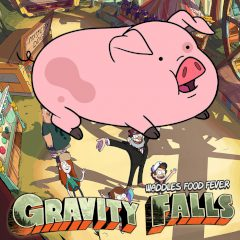 Gravity Falls Waddles Food Fever