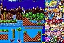 Amazing Sonic Scene Creator 2 online