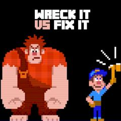 Jogo Wreck it vs Fix it Online Gratis