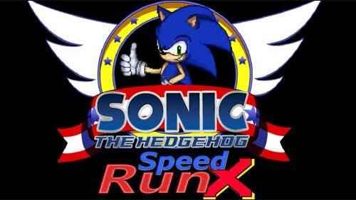 Jogo Sonic SpeedRun X Online Gratis