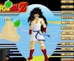 Jogo Dragon Ball Z Kai Creator – Criar Personagem Online Gratis