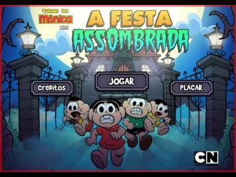 Jogo Festa Assombrada – Turma da Mônica Online Gratis