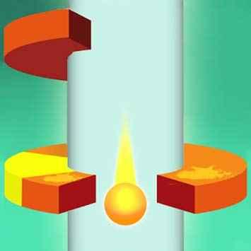 Fire Jump Balls 3D