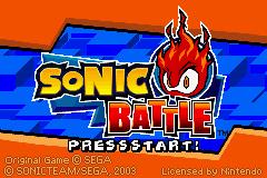 Jogo Sonic Battle Online Gratis