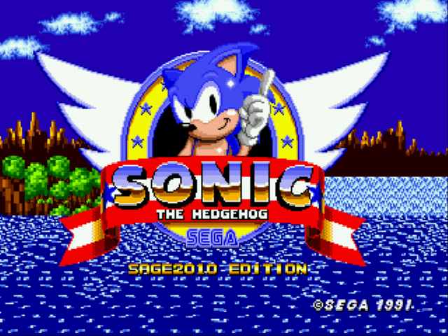 Sonic the Hedgehog 1 at SAGE 2010