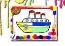 Jogo Boats Coloring Book Online Gratis