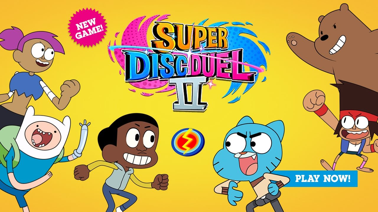 Jogo The Amazing World of Gumball: Super Disc Duel 2 Online Gratis