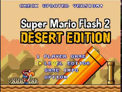 Super Mario Flash 2 – Desert Edition