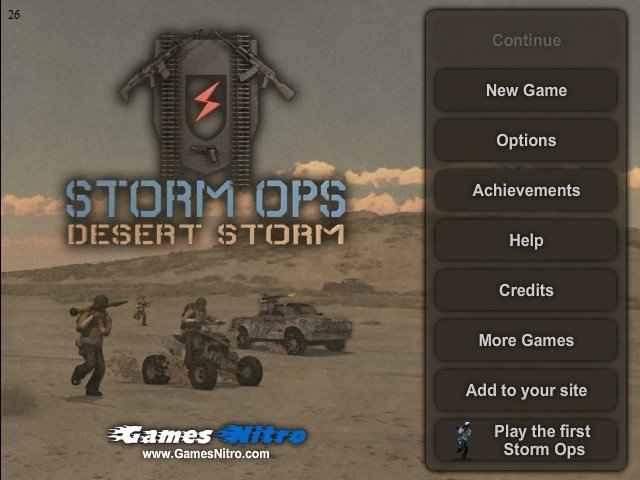 Storm Ops 2 – Desert Storm Hacked