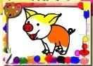 Jogo Pigs Coloring Book Online Gratis