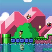 SMW The Princess Rescue 2 – Luigi's Journey!