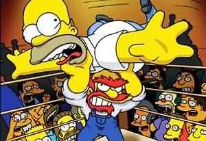 Jogo Simpsons the Wrestling Online Gratis