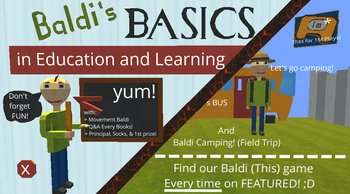 Kogama: Baldi's Basics in Education