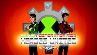 Ben10 And Generator Rex: Heroes United